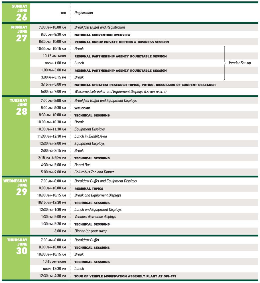 EMTSP National 2015 Conference Agenda